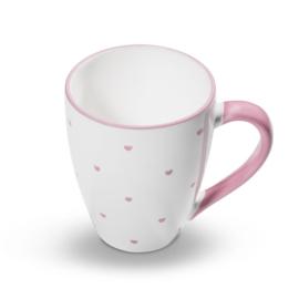Koffiebeker Max Hartjes roze - 0 ,3 l