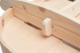 Babybed Benni's Nest van Zirben hout - EXCLUSIEF