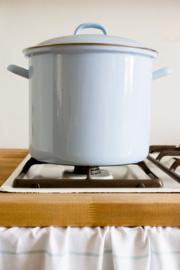 Hoge pan lavendelblauw - 8 liter