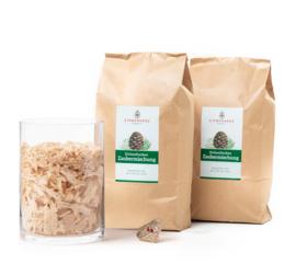Zirben vlokken - houtkrullen magisch mix - 800 gram
