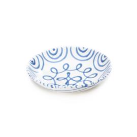 Soepbord Geflammt blauw - 20 cm