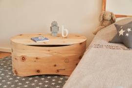 Babybed Benni's Nest van Zirben hout - PUUR & SPEL