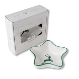 Schaaltje ster Stella - Hert groen cadeuaverpakking
