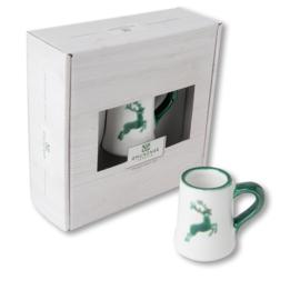 Mini pul - Hert groen cadeauverpakking