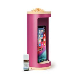Nightholder voor mobiele telefoon - 75% minder straling - pink