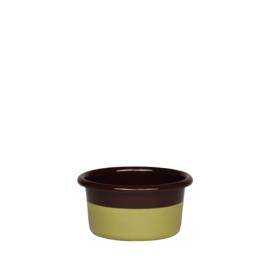 Muffinvorm choco & pistache - laag 4 cm