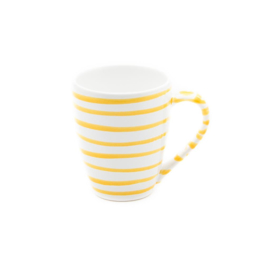Koffiebeker Max Geflammt geel - 0,3 l