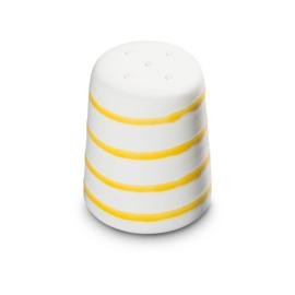 Zoutstrooier recht - Geflammt geel