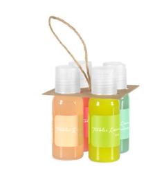 Vier unieke Alpengeuren - vloeibare zeep