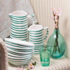 Dinerbord Geflammt groen - 25 cm