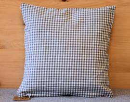Set kussenhoes & polyester vulling - Gerry hert grijs | 30 x 30 cm