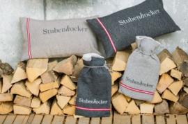 Kussenhoes Stubenhocker antraciet grijs - 30 x 50 cm
