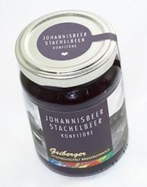 Zwartebes & kruisbes marmelade uit het Bregenzerwald - 230 gram