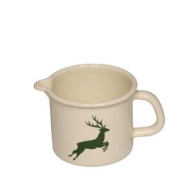 Pan met schenktuit hert groen - 1 liter