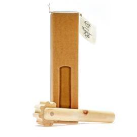 Bindweefselroller (fascia) van Zirben hout