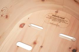 Babybed Benni's Nest  van Zirben hout -  PUUR basis set