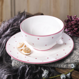 Espressokopje Hartjes roze - 0,06 l