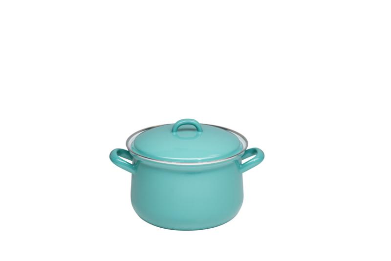 Hoge pan natuurlijk groen - 2,5 liter