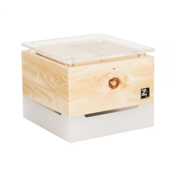 Luchtreiniger ZirbenLüfter® Cube mini kristal