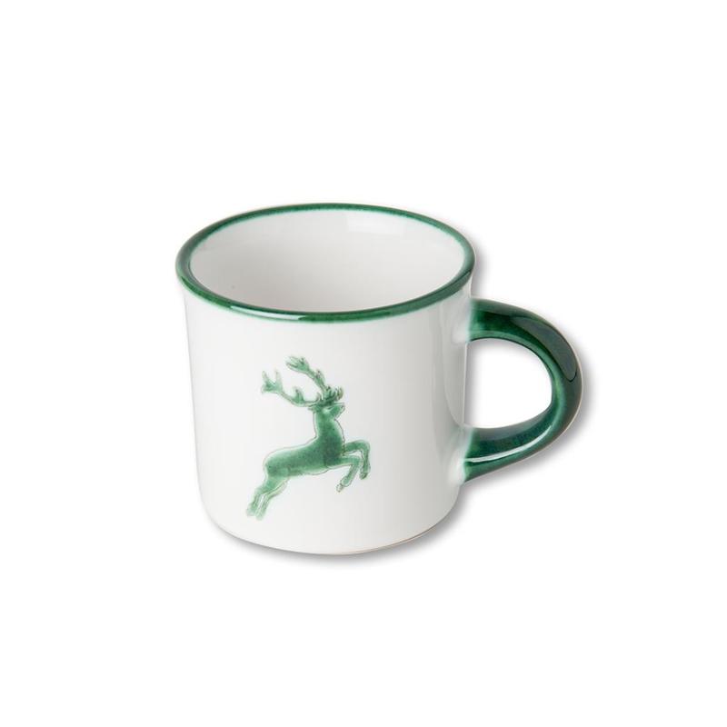 Koffiebeker Hert groen - 0,18 l