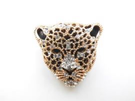 Broche jaguar.