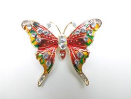 Broche mooie vlinder.