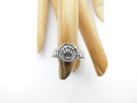 Zilveren baby roleks ring 1