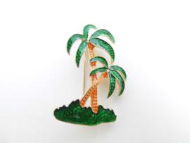 Broche palmbomen.