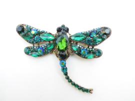 Grote libelle broche