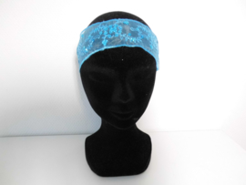 Haarband blauw