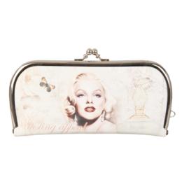 "Luxe knip portemonnee ""Marilyn Monroe"""