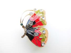 Broche vlinder.
