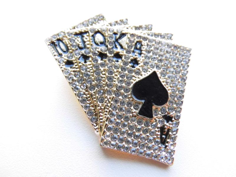 Broche poker