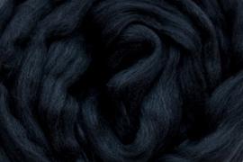 Meter lontwol: zwart