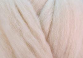 XXL Lontwol / viltwol: Nieuw-Zeelands: crème-wit (kl924)