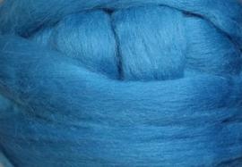 Meter lontwol: turks blauw