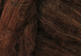 XXL Lontwol: Iers zwart/bruin (kl949)