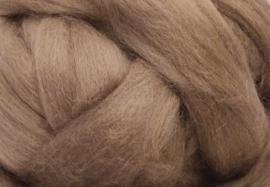 Meter lontwol: grijs-beige