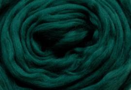 Meter lontwol: donker groen
