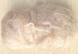 Alpacawol gekaard - crème - 30 gram