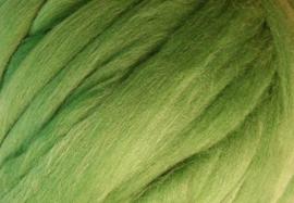 Meter lontwol: licht groen