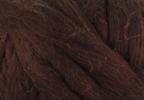 Meter lontwol: Zuid-Amerikaans- zwart/bruin (kl948)