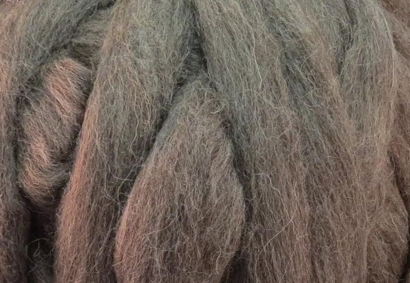 Meter lontwol: Schots grijs
