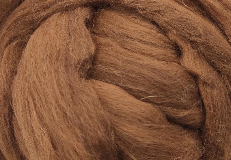 Meter lontwol: Manx Loaghtan - midden bruin (kl916)
