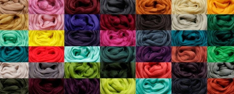 Lontwol merino kleur naar keus per meter