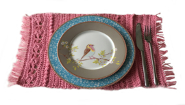 Poppenhuis rose placemat