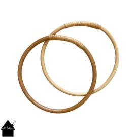 Bamboe handvat tassenhengsel 15 cm