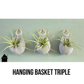 Hanging Basket Triple