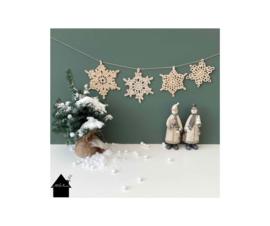 HAKEN Sneeuwsterren: Snowflake, Frosty, Starlace and Grannystar