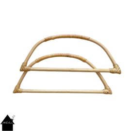 Bamboe handvat tassenhengsel